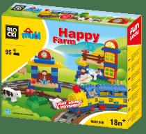 Klocki Blocki MUBI Wesoła Farma MU6188B