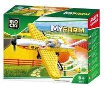 BLOCKI MyFarm Samolot do oprysków pola
